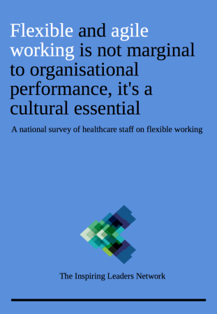 Flexible working report cover and link to download